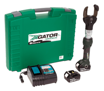 2 INCH CUTTER WITH TWO 4.0AH BATTERIES, 120V CHARGER & CASE