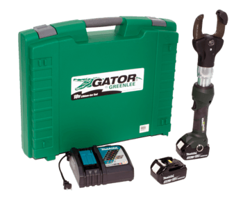 2 INCH CUTTER WITH TWO 4.0AH BATTERIES, 12V CHARGER & CASE